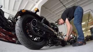 Mateusz Gessler w Twin Peaks Harley-Davidson Warszawa