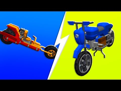Noob VS. Pro Motorcycle Challenge - Scrap Mechanics   JeromeACE