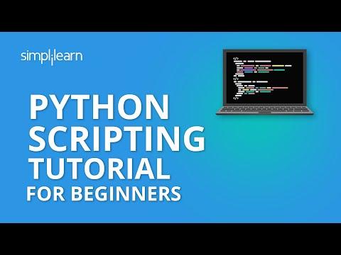 Python Scripting Tutorial For Beginners | Python Tutorial ... - YouTube
