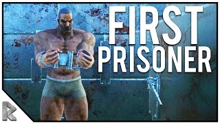 Our First Prisoner for Our Prison! - Ark Survival Evolved Thieves Island PVP #11