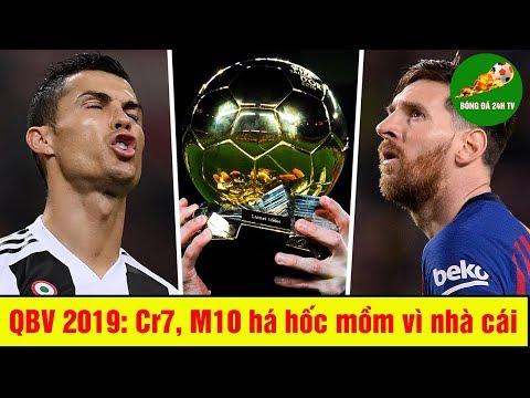Quả Bóng Vàng 2019: Ronaldo, Messi há hốc mồm vì nhà cái đặt tỷ lệ cao cho người này