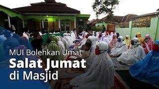 MUI Bolehkan Muslim di Indonesia Salat Jumat di Masjid namun dengan Satu Syarat yang Harus Dipenuhi
