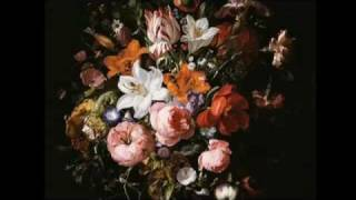 Flowers in a Glass Vase (Ruysch)