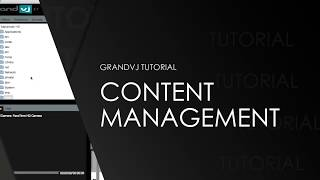 ArKaos Grand VJXT Video Tutorial - 9. ArKaos GrandVJ Content Management Tutorial
