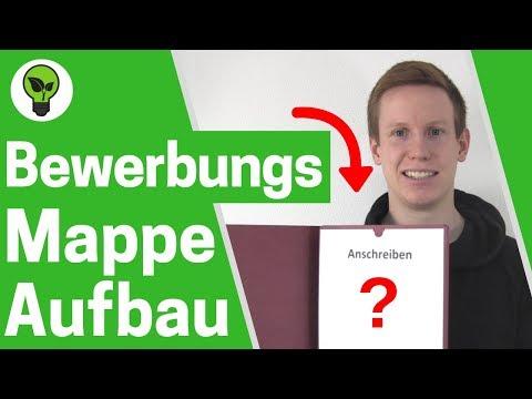 Bewerbungsmappe Aufbau ✅ ULTIMATIVE ANLEITUNG: Reihenfolge mit Deckblatt einsortieren 👉 3 teilig!!!