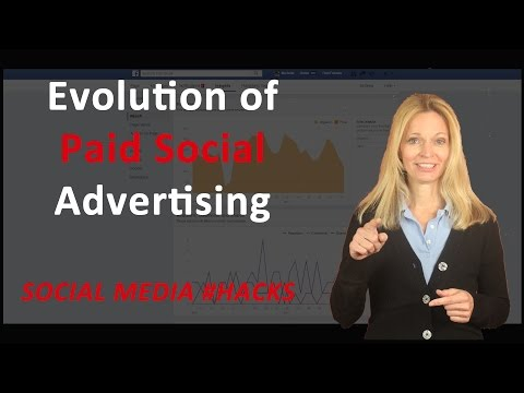 The Evolution of Paid Social Media Advertising