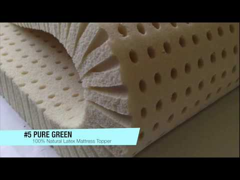 The 5 Best 100% Natural Latex Mattress Toppers *2018*