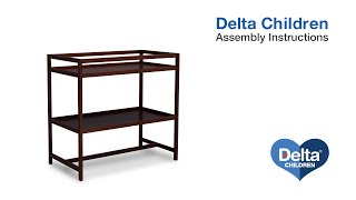 Delta Children Harbor Changing Table Assembly Video