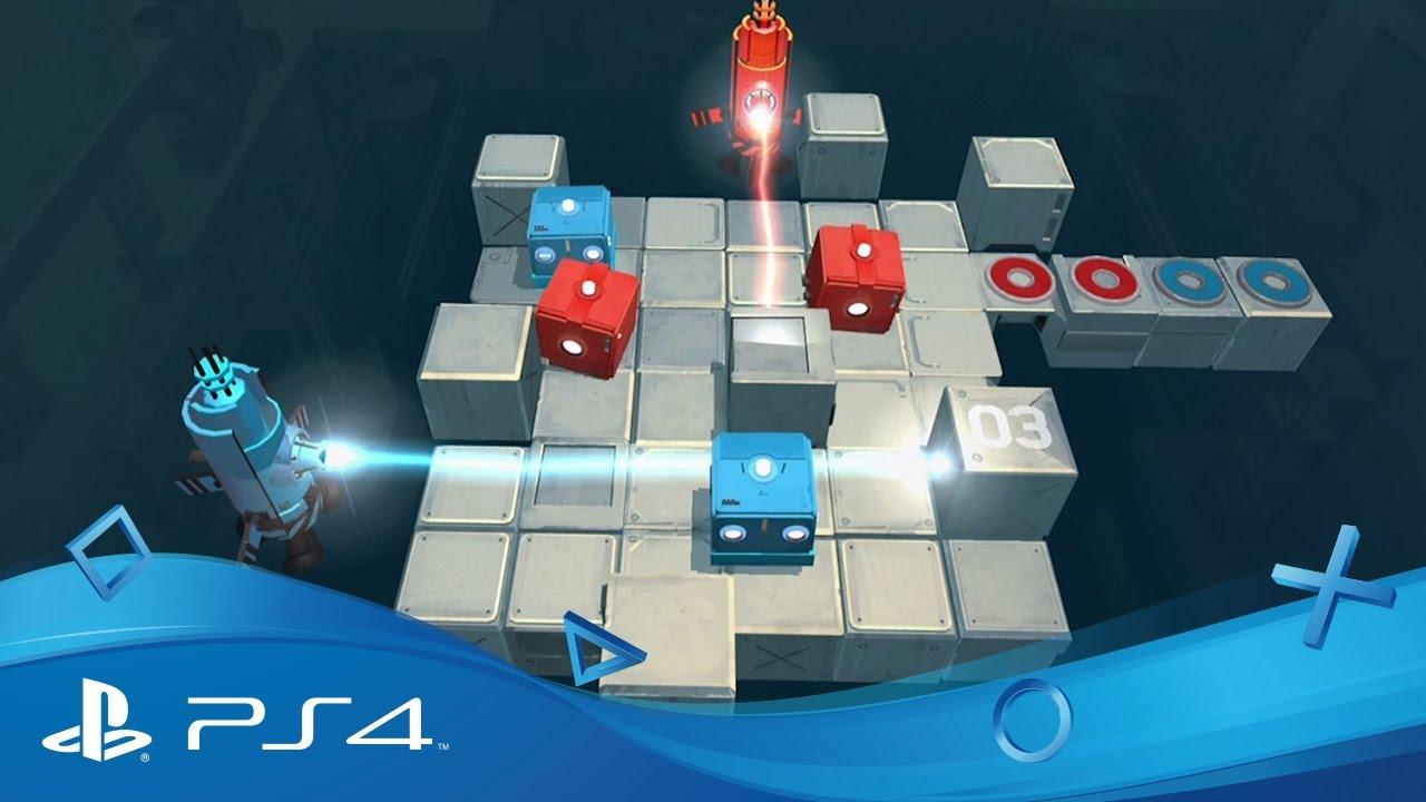Das Anfang 2017 erscheinende Koop-Rätselspiel Death Squared für PS4 stellt eure Beziehung zu anderen auf die Probe