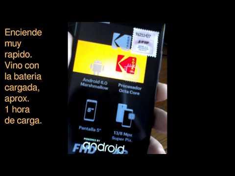 Kodak Smartway X1 (si, tiene flash frontal!)