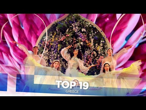 Greece in Eurovision - My Top 19 (2001-2019)
