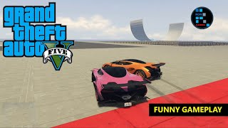 GRAND THEFT AUTO V | FUNNY GAMEPLAY, SUMO REMIX PUSH THEM ALL OUT OF THE ZONE