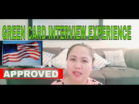 GREEN CARD EXPERIENCE IN USCIS 2020  | ADJUSTMENT OF STATUS  | THE CAHANAP TV