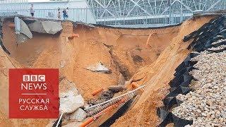 Из-за ливней в Волгограде затопило стадион, построенный к ЧМ
