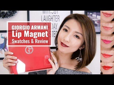 GIORGIO ARMANI Lip Magnet Swatches & Review