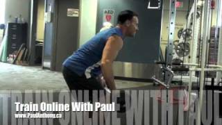 Calgary Fitness Tutorial - Bent Over Rows