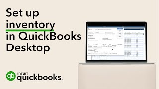 How to set up inventory in QuickBooks Desktop