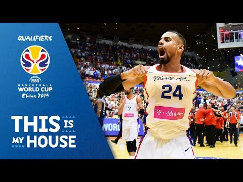 Puerto Rico's Best Plays of the FIBA Basketball World Cup 2019 - Americas Qualifiers (видео)