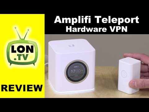 Amplifi Teleport Review – Access Your Home Network from Anywhere / Hardware VPN