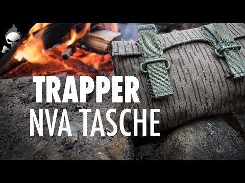 Trapper Tasche: NVA Granaten- / Koppeltasche – robuste Tasche für Bushcraft, Survival oder Trapper