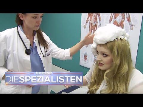 Bad Hair Day: Frau nutzt Bauschaum statt Haarschaum | Auf Streife - Die Spezialisten | SAT.1 TV