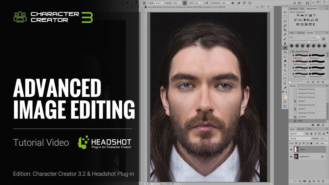Headshot - Advanced Image Editing
