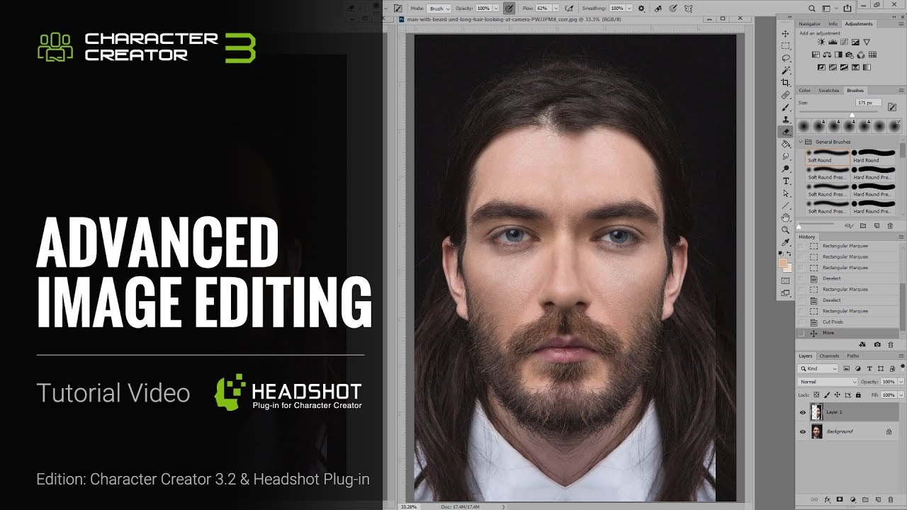 Headshot Plug-in Tutorial - Advanced Image Editing - by 3Dtest