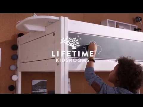 LIFETIME KIDSROOMS HIGH-RISE BED