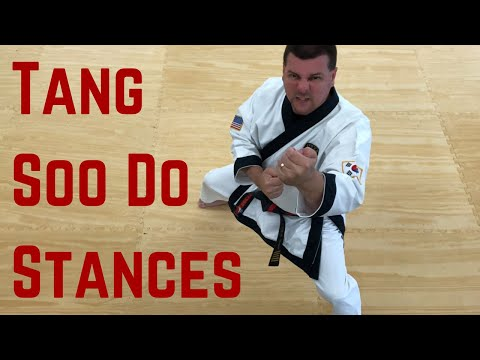 How to do Tang Soo Do Stances - YouTube