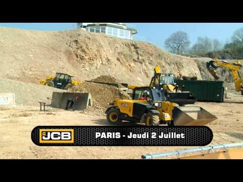 Début du JCB Experience Tour près de Nantes
