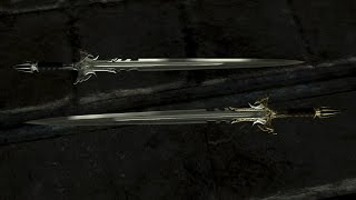 Skyrim Special Edition Sedethul Gold Weapon Mod