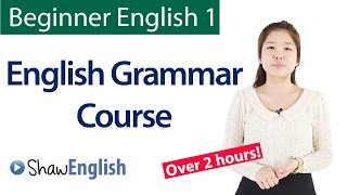 English Grammar Course For Beginners: Basic English Grammar - Download this Video in MP3, M4A, WEBM, MP4, 3GP