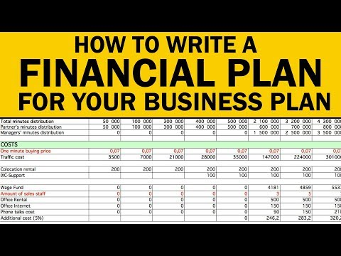 How to Write a Financial Plan for Your Business Plan in 2021