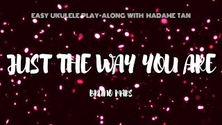 just the way you are ukulele play along - TH-Clip
