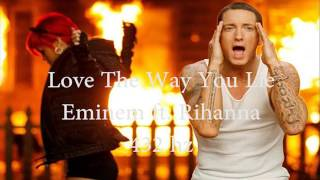Love The Way You Lie   Eminem Ft  Rihanna [432 Hz]