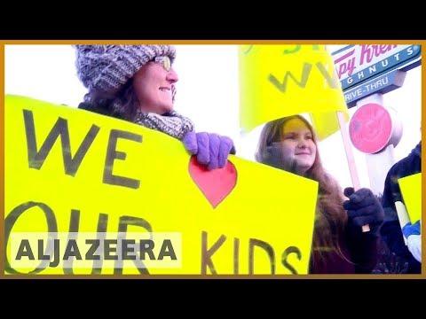 🇺🇸 US teachers' strike continues amid calls for better resources   Al Jazeera English