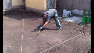 Подготовка территории участка к укладке рулонного газона