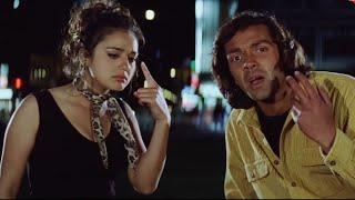 Bobby Deol – Preity Zinta – Drunk Scene – Soldier Movie – Romantic Scene
