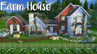 The Sims 4: Speed Build - FARM HOUSE + CC List