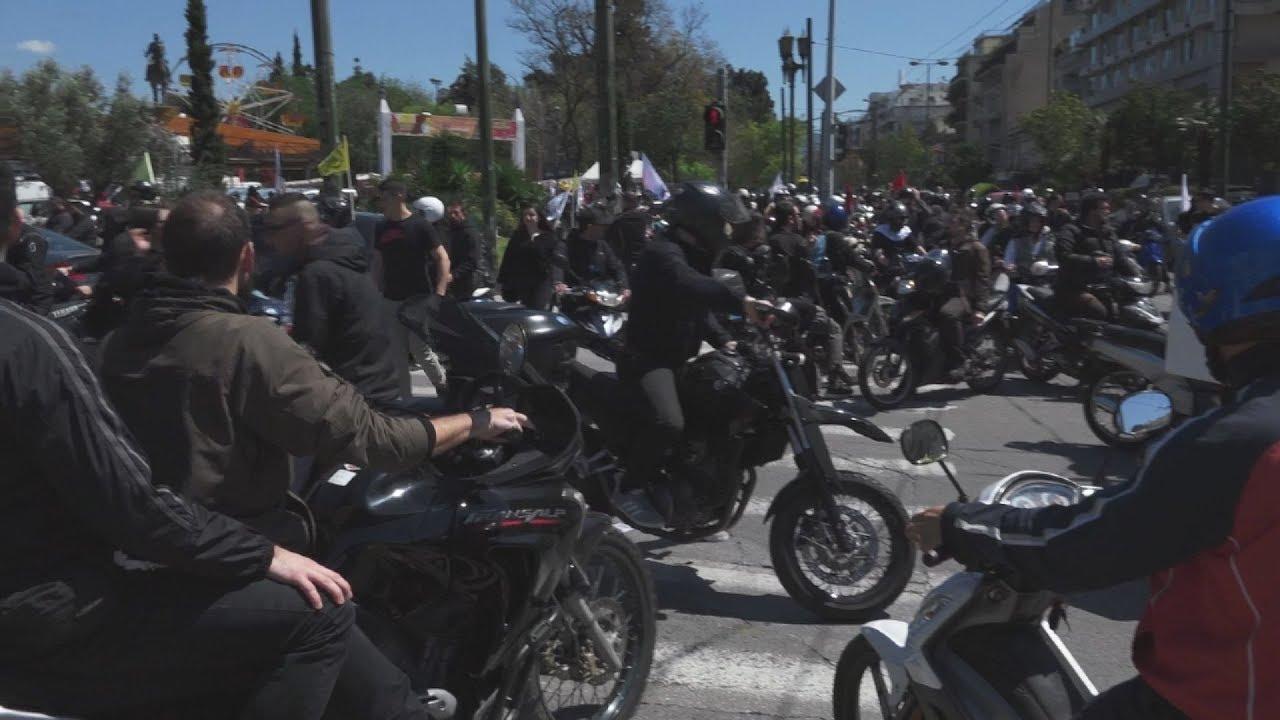 Πανελλαδική ημέρα δράσης διανομέων, Μοτοπορεία & 24ωρη απεργία