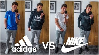 NIKE Vs. ADIDAS | Mens Outfit Challenge | Which Brand Is Better?
