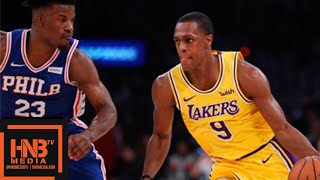LA Lakers Vs Philadelphia Sixers Full Game Highlights | 01292019 NBA Season