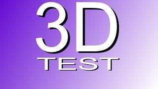 3D VIDEO SMART TV TEST UPLOAD 4K Video, 2160p 1080p