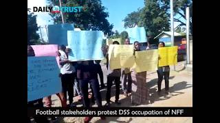 Watch Protest over DSS occupation of NFF