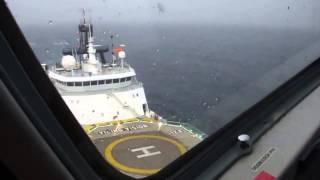 Внутри падающего вертолёта