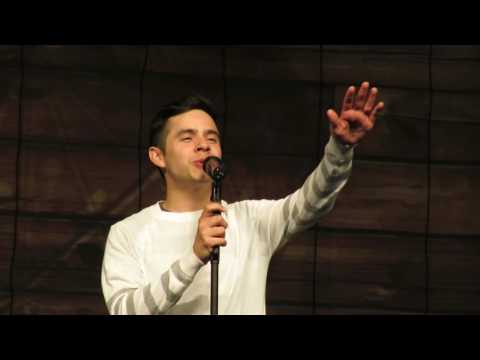 David Archuleta - True Colors - TOFW Wisconsin Mp3
