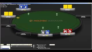 Poker Strategy Videos/Crazymoves09 $3r FT Chop Part1