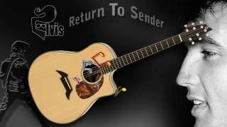 Return To Sender - Elvis - Acoustic Guitar Lesson (easy-ish)