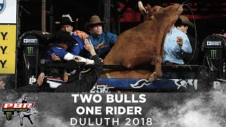 Marco Eguchi Battles Two Bulls in Duluth | 2018