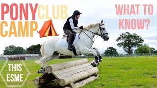 Pony Club Camp | What To Know? | This Esme